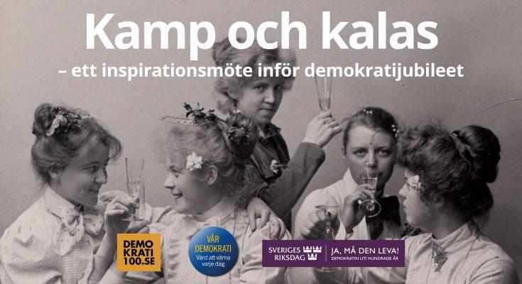Kamp och Kalas - inspiration inför demokratijubileet 2021